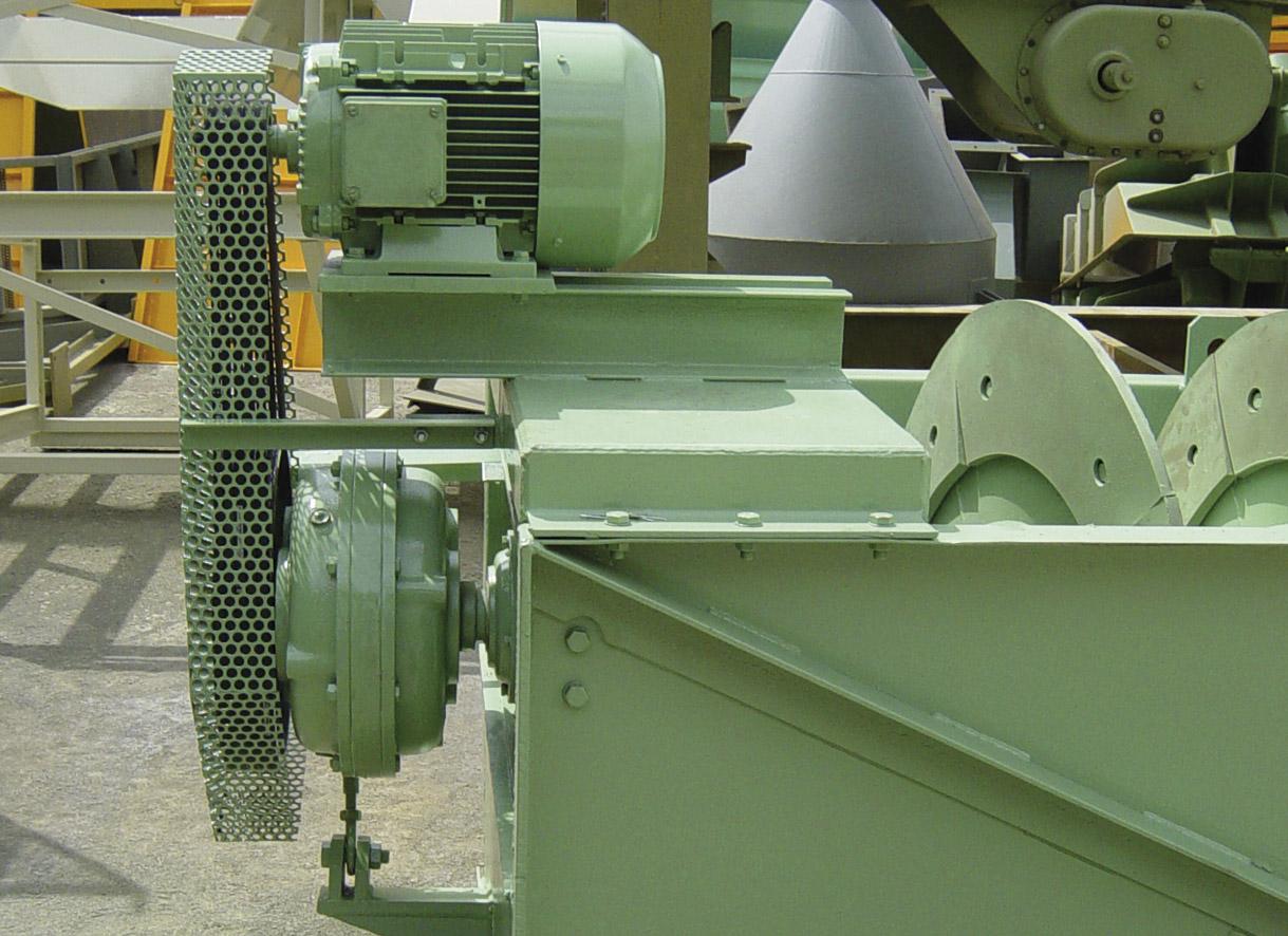 """Motor y reductor de un tornillo lavador de arena <span class=""""color_granier""""><span class=""""color_granier"""">GRANIER <sup class=""""clase_sup"""">®</sup></span></span>"""