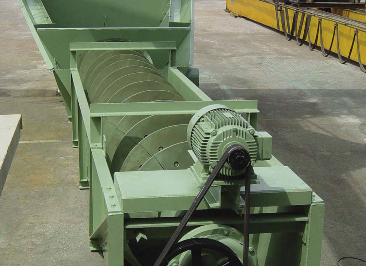 """Tornillo lavador de arena <span class=""""color_granier""""><span class=""""color_granier"""">GRANIER <sup class=""""clase_sup"""">®</sup></span></span> de una hélice"""