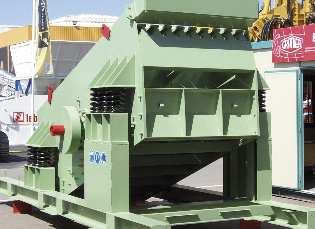 Vista posterior precribador granier modelo PCV 6012