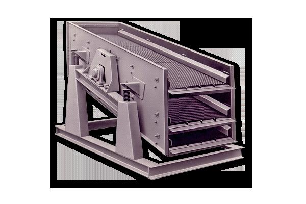 Criba vibrante para áridos Granier modelo CVN 300