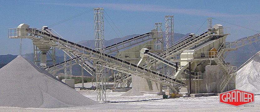 Instalaciones de plantas de hormigón