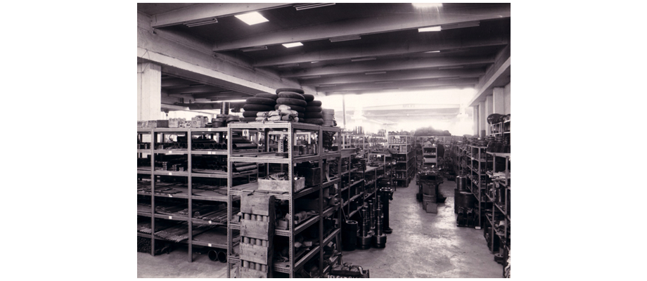 Almacén antigua fábrica de Granier