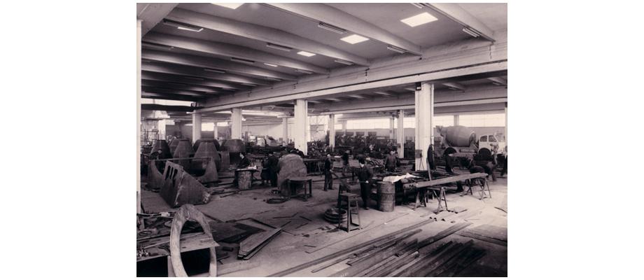 Taller de la antigua fabrica de Granier